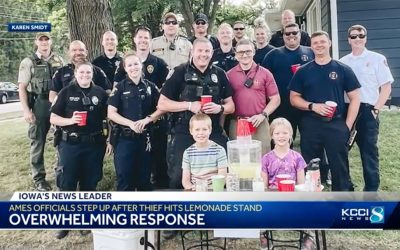 Community gives sweet surprise after thief steals from kids' lemonade stand